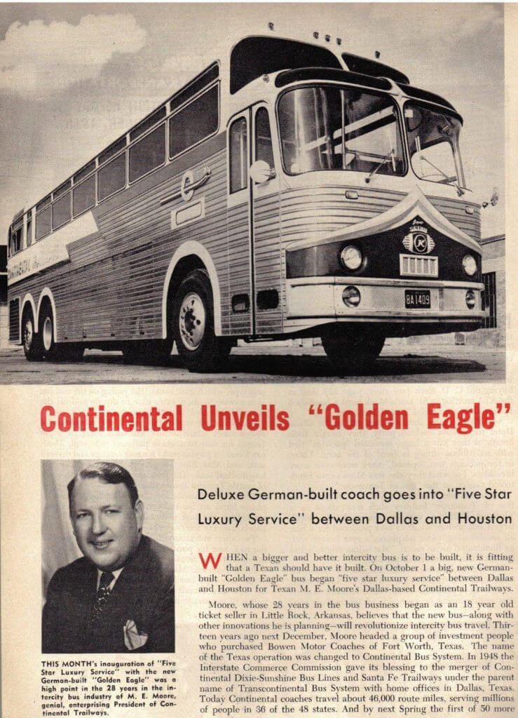 Continental Unveils Golden Eagle