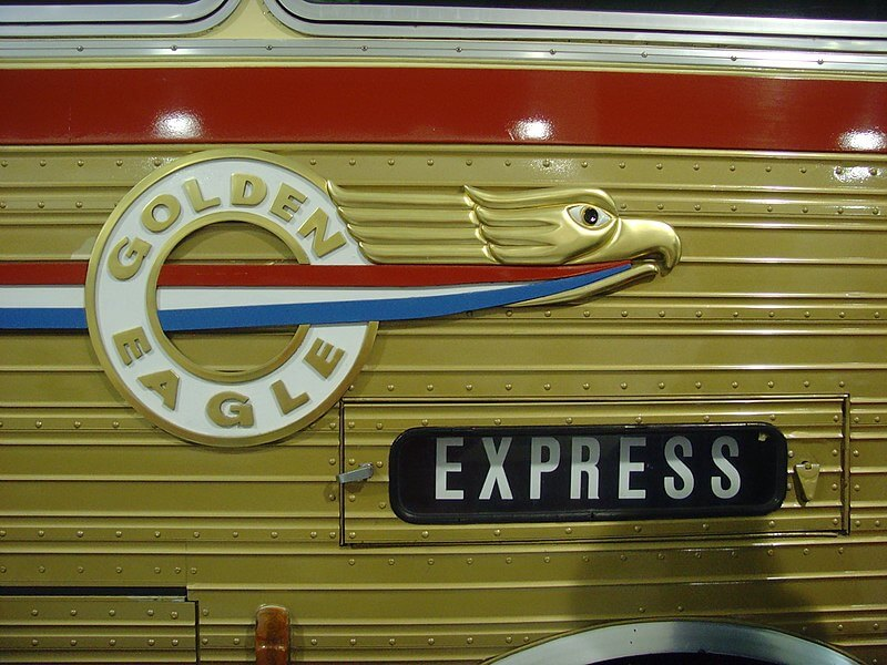 1971 Golden Eagle 05 Curb Side Emblem and Destination Sign