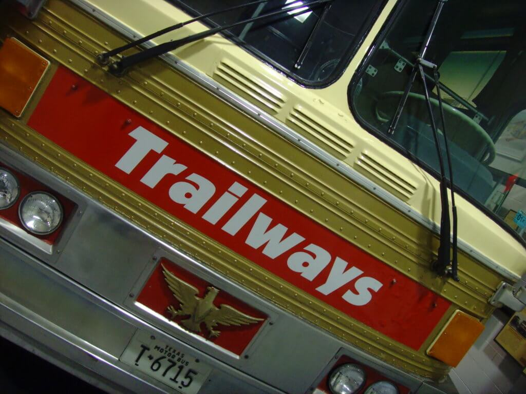 1971 Golden Eagle 05 Trailways Sign
