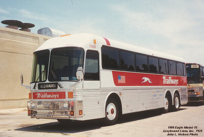 Eagle 15 Greyhound Trailways