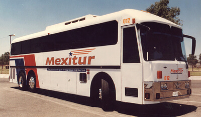 Eagle Bus Manufacturing Inc sold to a Mexican corporation Motodiesel