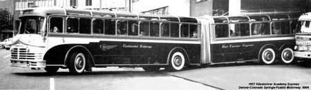 1957 Kassbohrer Articulated Coach